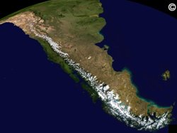 What is the climate like in the Andes Mountains region?